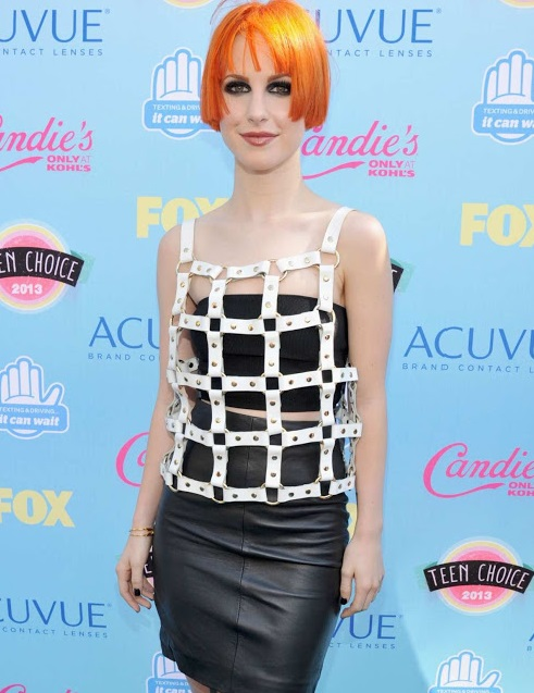 Hayley Williams during Teen Choice Awards 2013