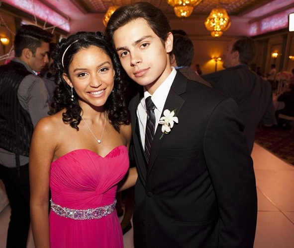 Jake T. Austin and Bianca Alexa Santos