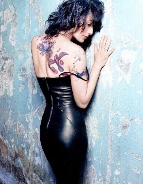 Lena Headey tattoo
