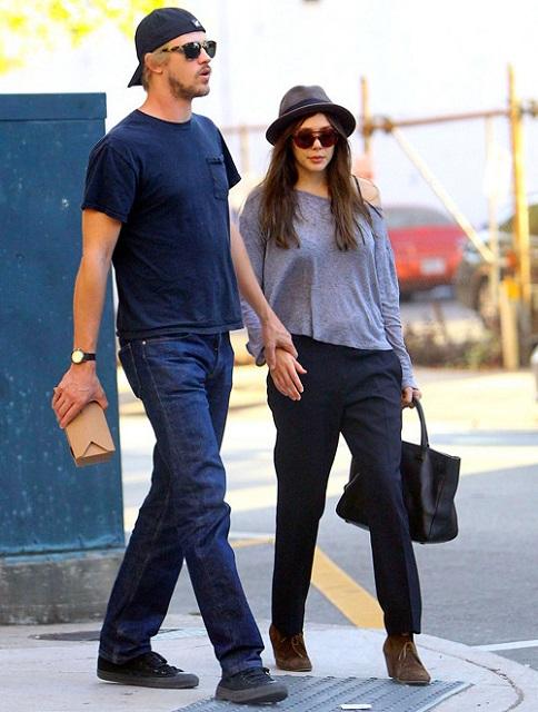 Lizzie Olsen and boyfriend Boyd Holbrook