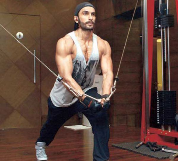 Ranveer Singh Workout for Ramleela