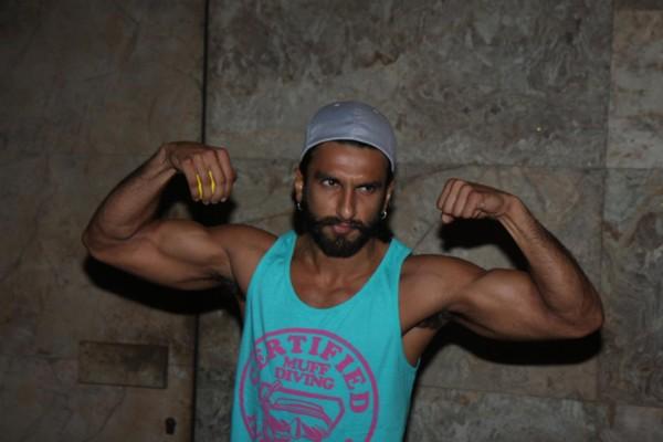Ranveer Singh body biceps