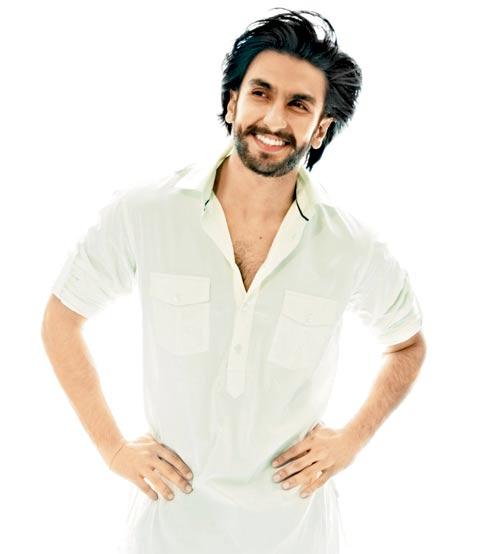 Ranveer Singh smiling