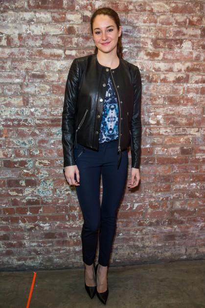 Shailene Woodley height