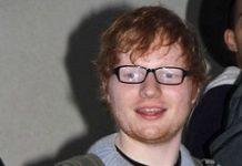 Ed Sheeran in spectacles
