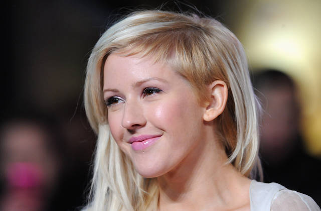 Ellie Goulding during Les Miserables premiere