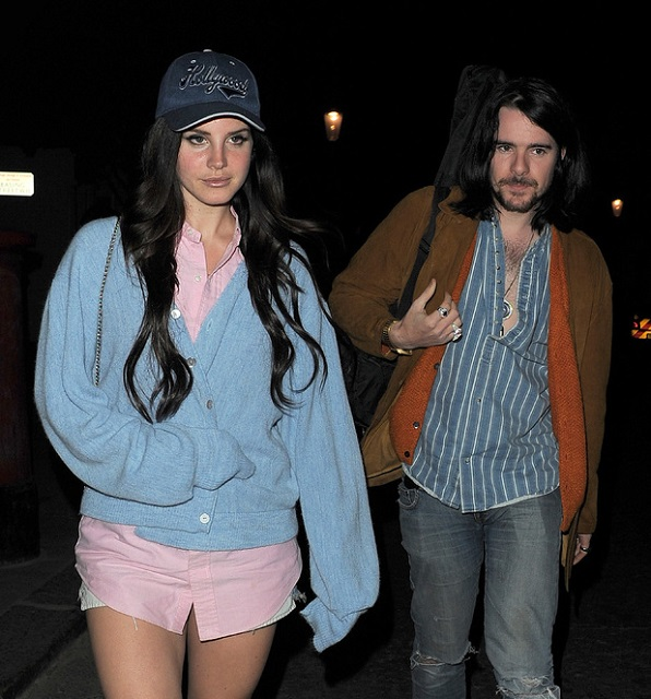Lana Del Rey and boyfriend Barrie James O' Neill