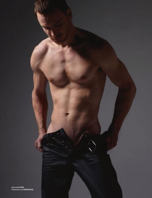 Michael Fassbender shirtless body