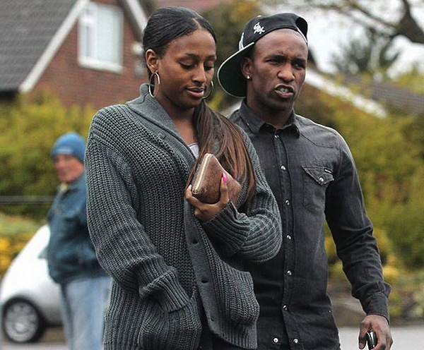 Alexandra Burke and boyfriend Jermain Defoe