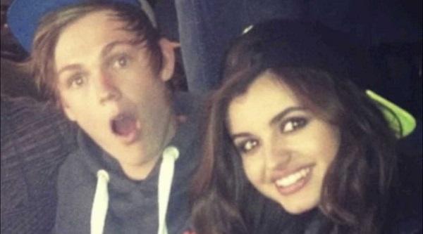 Caspar Lee and RUMORed girlfriend Rebecca Black