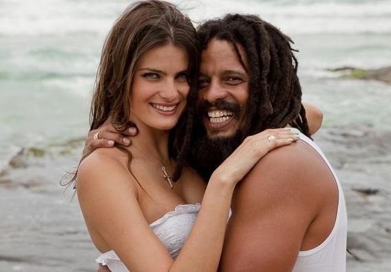 Isabeli Fontana and ex-boyfriend Rohan Marley