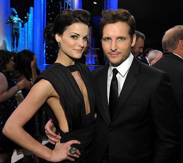 Jaimie Alexander and her boyfriend Peter Facinelli