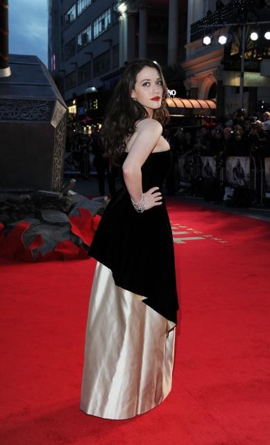 Kat Dennings at Thor: The Dark World premiere