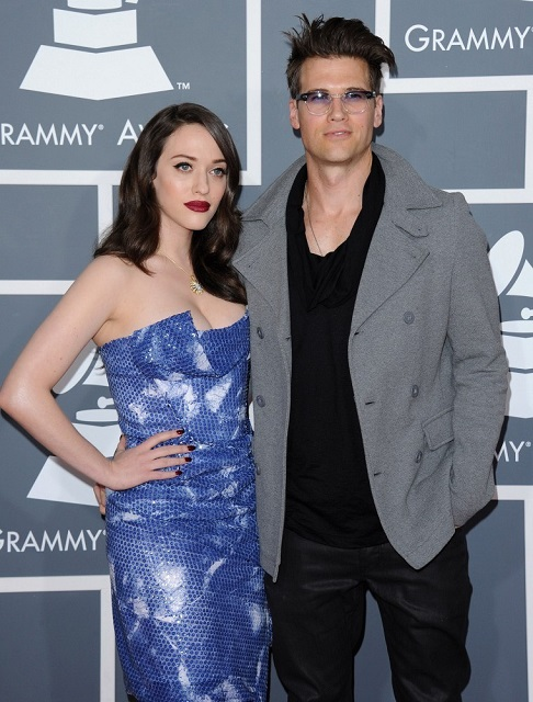 Kat Dennings and her boyfriend Nick Zano
