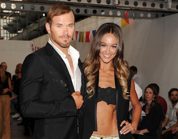 Kellan Lutz and his girlfriend Sharni Vinson