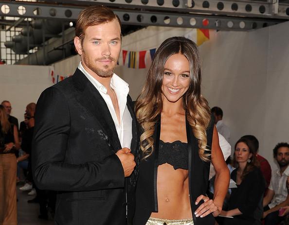 Kellan Lutz and his girlfriend Sharni Vinson