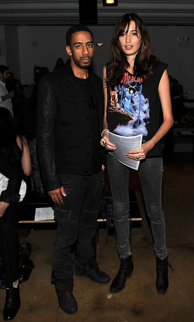 Kenza Fourati and Ryan Leslie