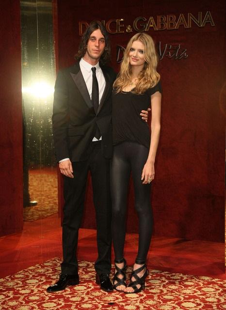 Lily Donaldson and ex-boyfriend Vladimir Restoin Roitfeld
