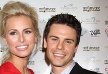 Niki Taylor and Burney Lamar