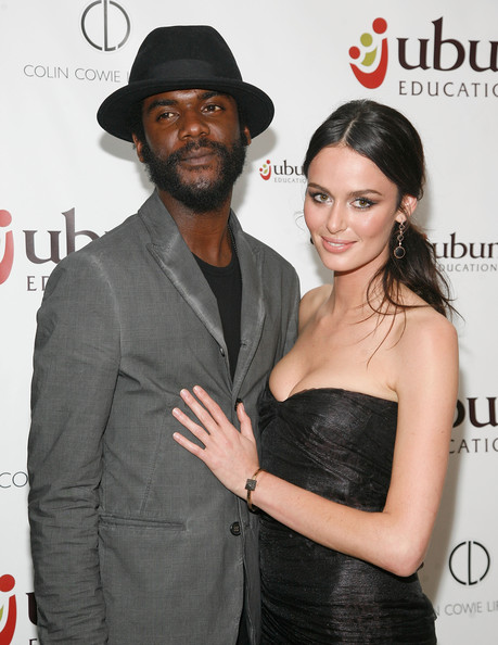 Nicole Trunfio and her musician boyfriend Gary Clark Jr.