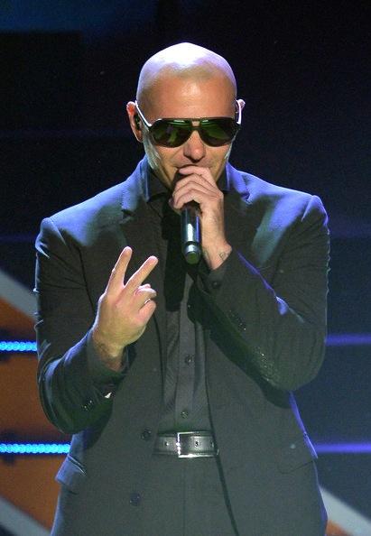 Pitbull performing at Nickelodeon 26th Annual Kids Choice Award