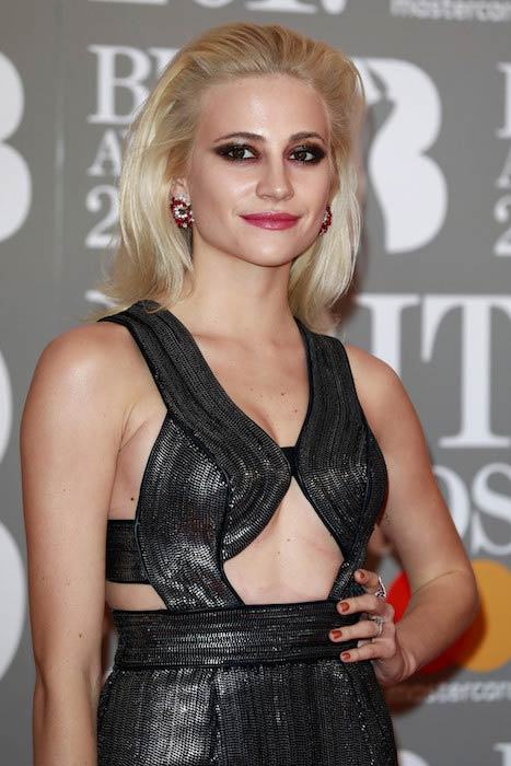 Pixie Lott at The BRIT Awards 2017