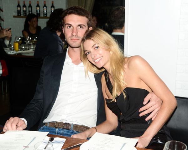 Stavros Niarchos and Jessica Hart