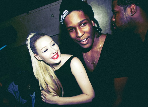Iggy Azalea and her boyfriend Asap Rocky