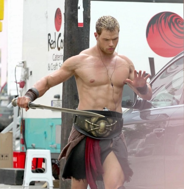 Kellan Lutz body shirtless