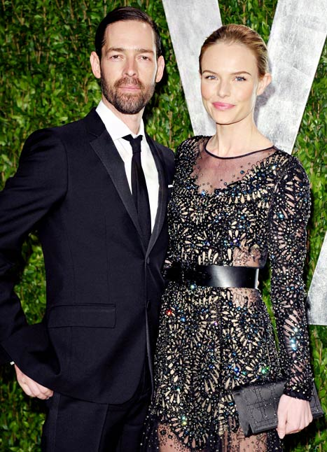 Michael Polish and his wife Kate Bosworth
