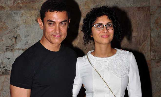 Aamir Khan and wife Kiran Rao