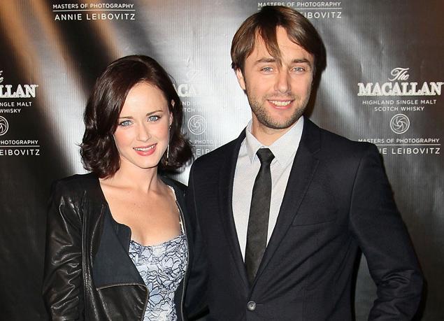 Alexis Bledel and her partner Vincent Kartheiser