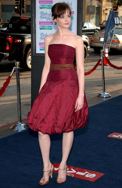 American actress Alexis Bledel