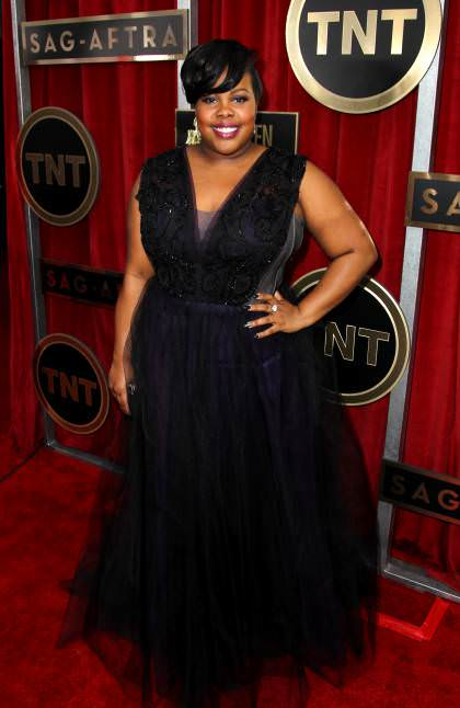 Amber Riley weight