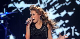 Angie Miller during American Idol, slim figure.