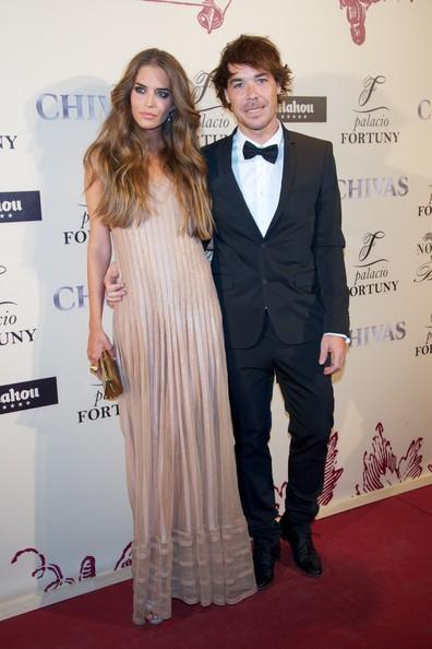 Clara Alonso and her guitarist boyfriend David Feito