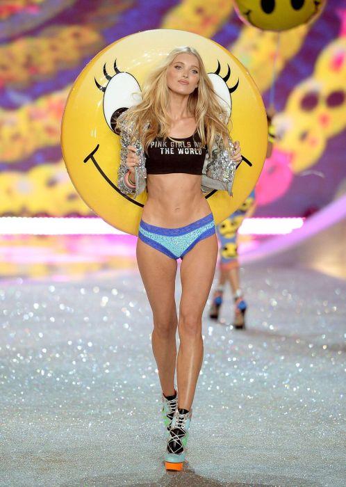 Elsa Hosk during 2013 Victoria's Secret Fashion Show