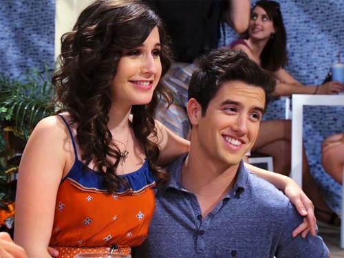 Erin Sanders and her ex-boyfriend Logan Henderson