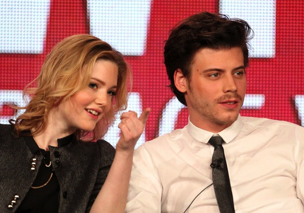 Holliday Grainger and Francois Arnaud