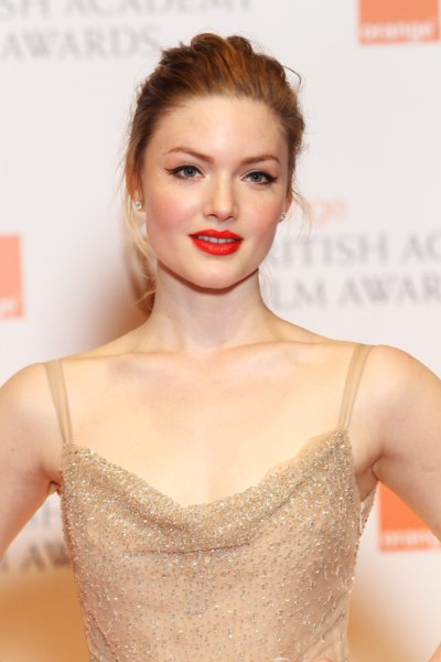 Holliday Grainger red hot