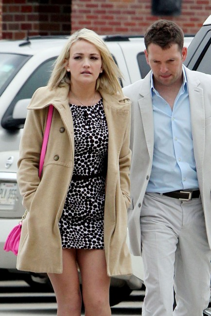 Jamie-Lynn Spears and fiance James Watson