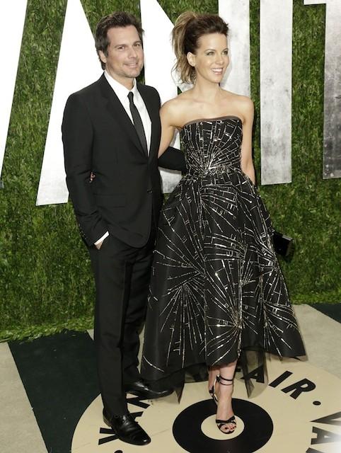 Kate Beckinsale and her director husband Len Wiseman