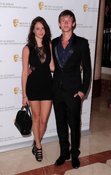 Kaya Scodelario and boyfriend Elliott Tittensor