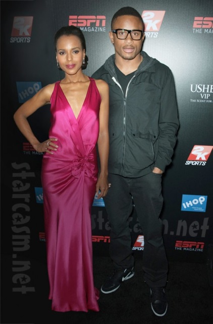 Kerry Washington and her footballer husband Nnamdi Asomugha