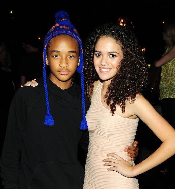 Madison Pettis And Jaden Smith Kissing Madison Pettis and Jaden Smith
