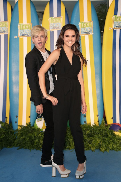 Maia Mitchell and her ex-boyfriend Ross Lynch