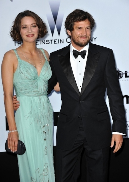 Marion Cotillard with cute, Husband Guillaume Canet