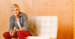 Ross Lynch sitting