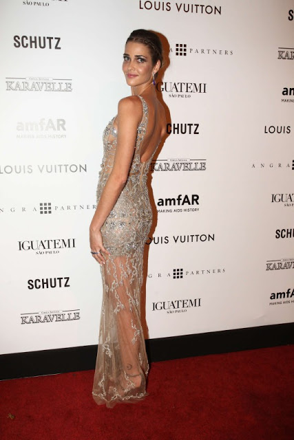Ana Beatriz Barros attends the 2013 amfAR Gala