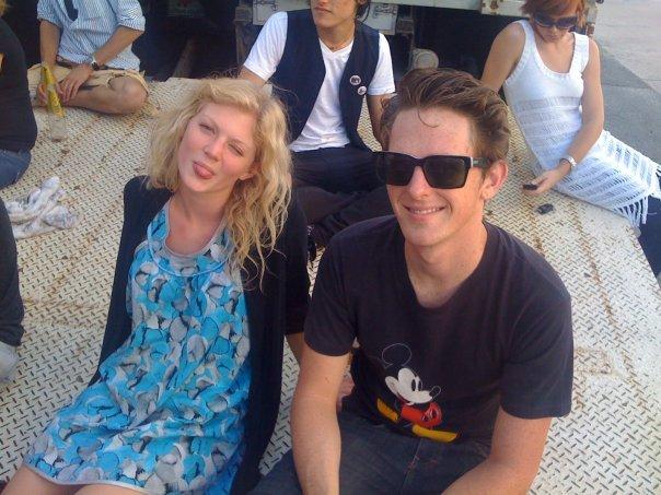 Cariba Heine and Jamie Timony